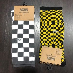 Vans Men's Crew Socks Lot of Two